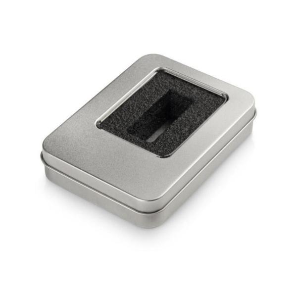 Pudełko metalowe na pendrive reklamowy